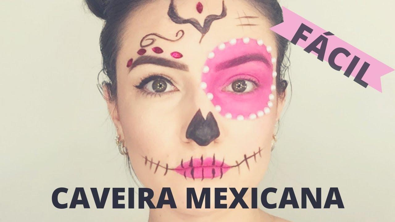 Maquiagem Halloween Feminina E Infantil Simples E Facil 2020