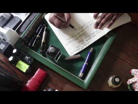 Vlog 31: Polishing & Refilling My Fountain Pens, Maintenance Day.