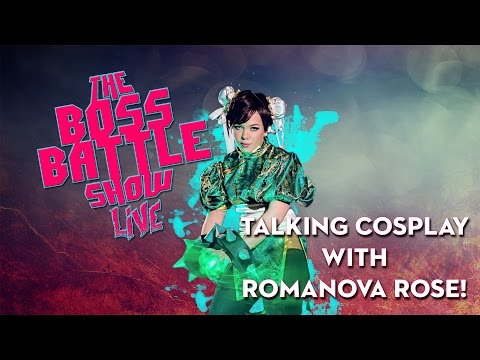 TALKING COSPLAY WITH ROMANOVA ROSE // The Boss Battle Show Live