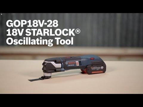 Видео обзор: Резак универсальный BOSCH GOP 18V-28 Solo без АКБ и ЗУ