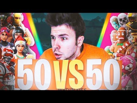 *NUEVO* 50vs50 v2   FORTNITE: Battle Royale