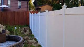 outdoor cheap fence panel