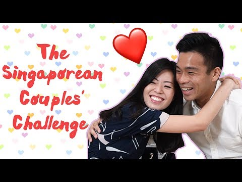 Valentine's Day Special | The Singaporean Couples Challenge