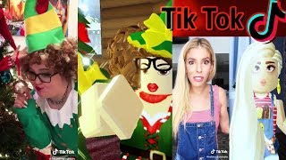 Recreating CHRISTMAS TIK TOKS in Roblox!