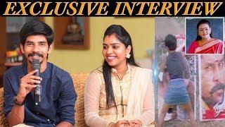 இவர் பேச்ச கேட்டு தெரியாம YouTube-ல தேடிட்டோம்!... | Udayaraj - Janani Couples Interview