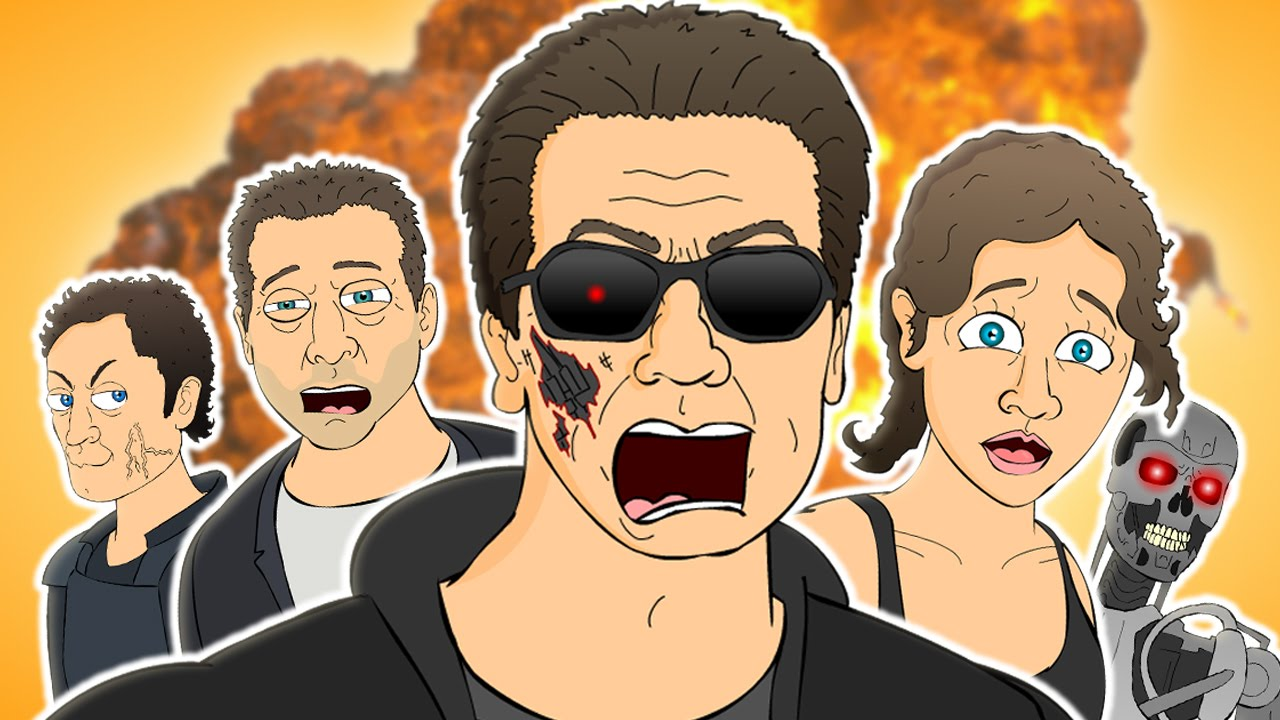 Terminator Genisys The Musical Animation Song Parody Youtube