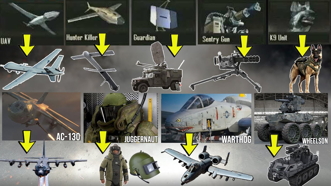 "¿Cómo son las ""Killstreaks"" de Call of Duty en la Vida Real? 💥"