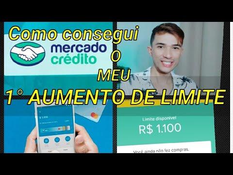 AUMENTO DE LIMITE MERCADO CRÉDITO, MERCADO LIVRE - YouTube