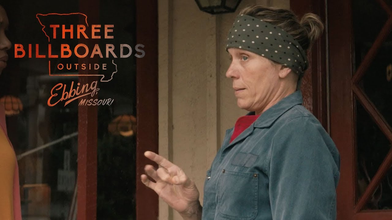 THREE BILLBOARDS OUTSIDE EBBING, MISSOURI | Signs of the Times