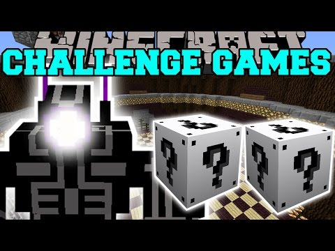 Minecraft: ROBO WARRIOR CHALLENGE GAMES - Lucky Block Mod - Modded Mini-Game