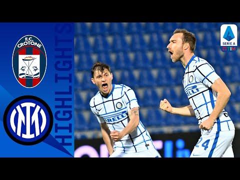 Crotone 0-2 Inter | L'Inter è Campione d'Italia | Serie A TIM