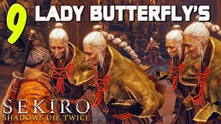 SEKIRO GURU VS. 9 LADY BUTTERFLY'S! Hard Mod For Hirata Estate