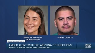 AMBER Alert Issued For Washington Teen Believed To Be With Arizona Men