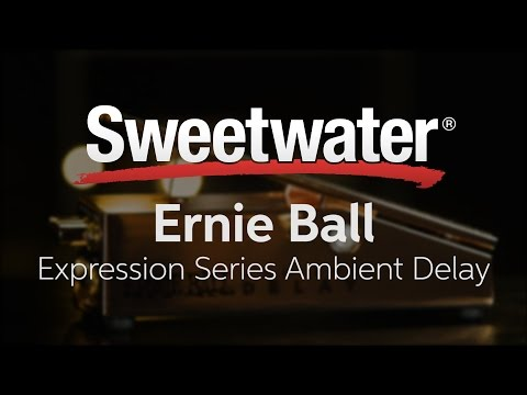 Ernie Ball Expression Series Ambient Delay Pedal Review