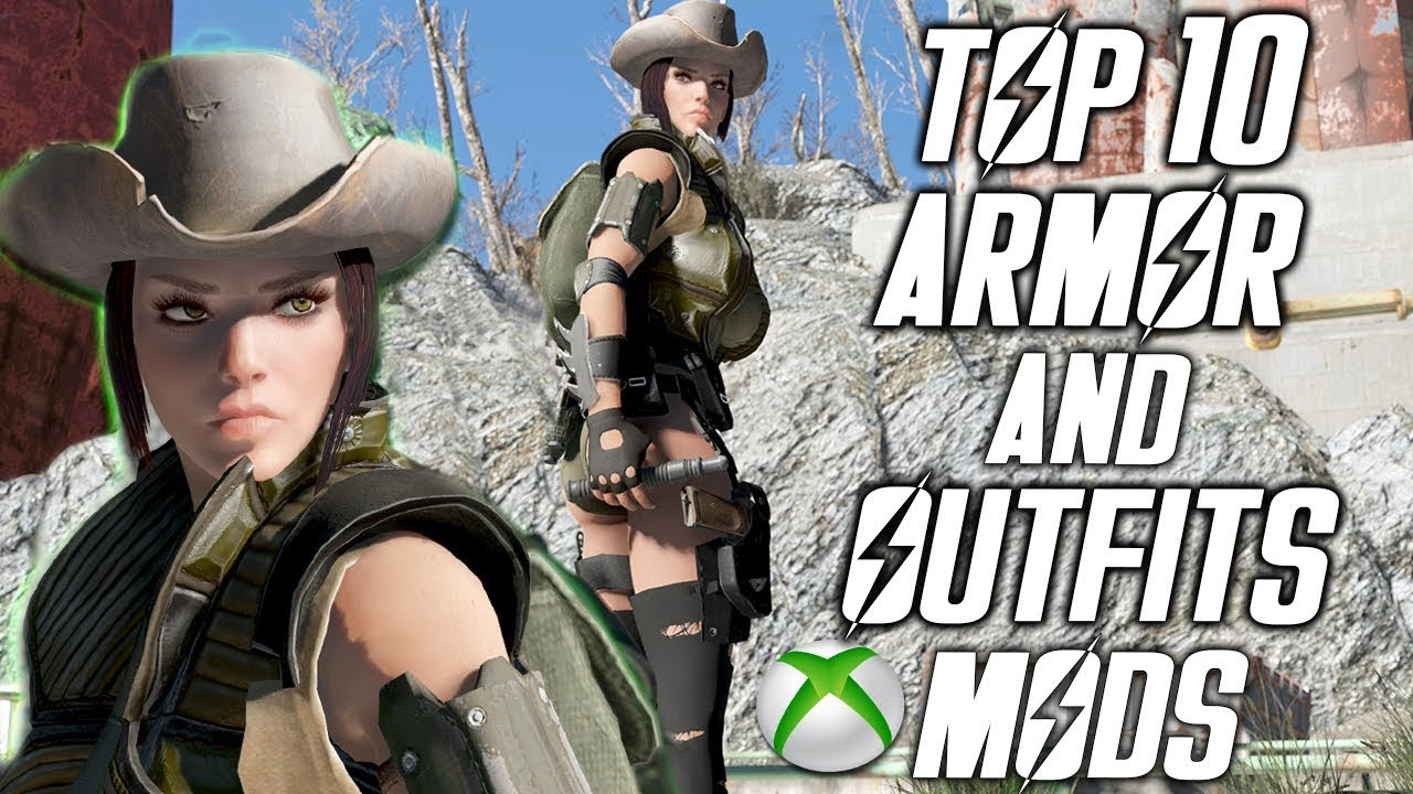 Best Fallout 4 Mods 2020 FALLOUT 4   TOP 10 BEST ARMOR AND OUTFITS MODS   Mods Of Week