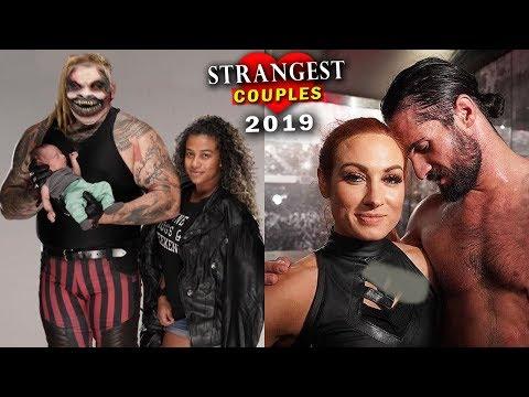 10 Strangest WWE Couples 2019 - Bray Wyatt & Jojo, Seth Rollins & Becky Lynch