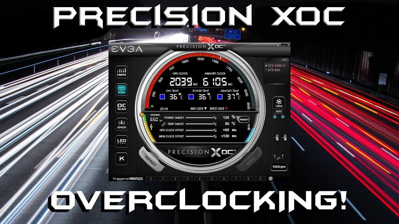Overclocking with EVGA Precision XOC