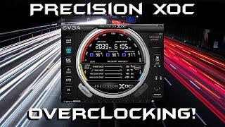 Overclocking with EVGA Precision XOC