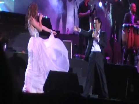 Marc Anthony and Jennifer Lopez en Vivo en Chile -