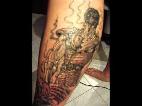 Tattoo Kenshiro 1 3 Youtube