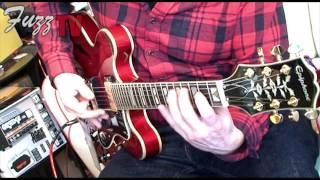 Fuzz Guitars: Epiphone 50th Ann 1962 Sheraton E212T