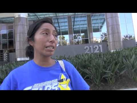 Eli Broad Foundation Protested In LA-Ed  Workers/Advocates Support Repeal Of Charters In CA