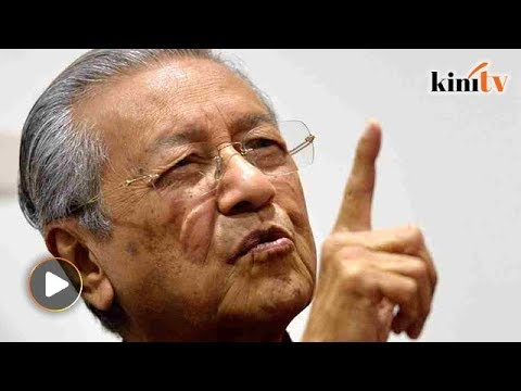 'Is Mahathir a thief?' - Watch his response