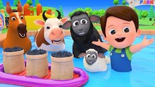 Baa Baa Black Sheep Nursery Rhymes With Farm Animals