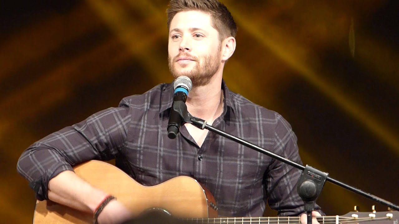 Jensen Ackles singing ...