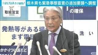 栃木県も緊急事態宣言の追加要請へ調整(2021年1月9日) - YouTube