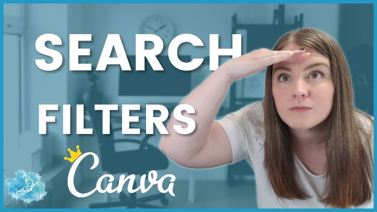 Canva Quick Tips: How to find Free images | Search Filters tutorial 2020