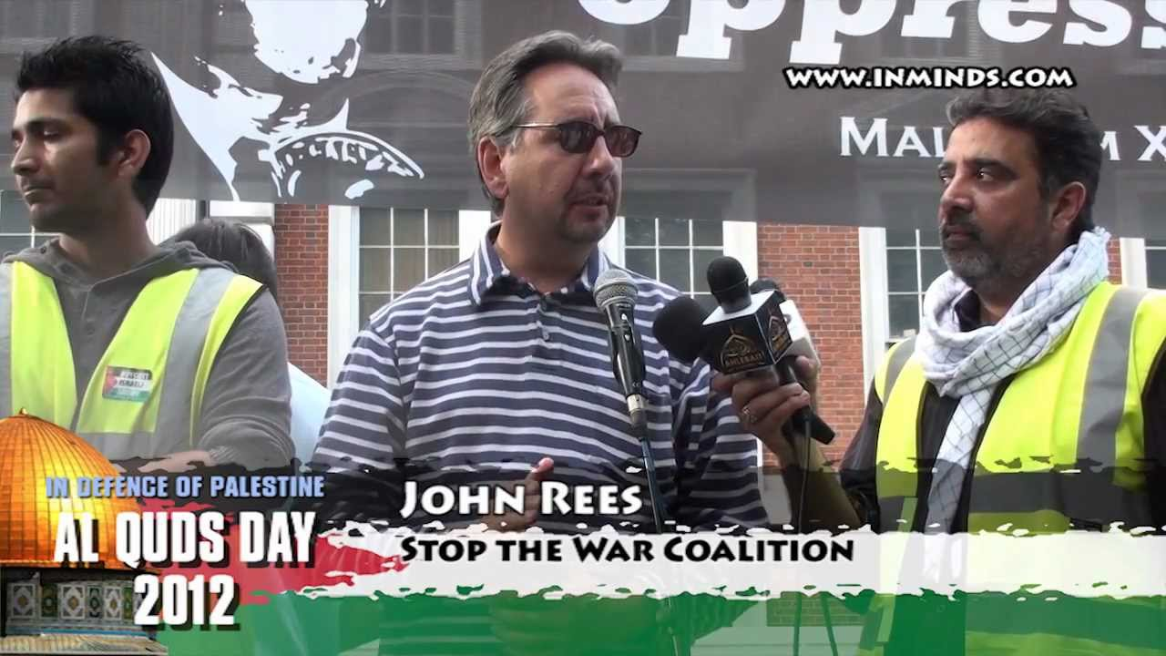 Image result for John Rees Palestine