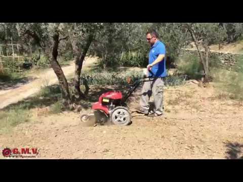 Motozappa honda ff300 youtube for Motozappa youtube