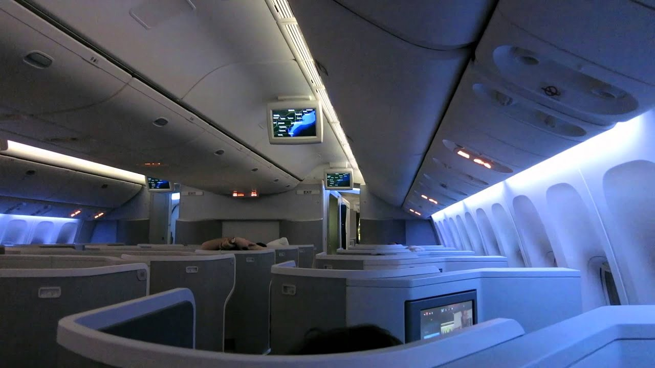 Aa951 Jfk Gru New American Airlines Business Class Boeing