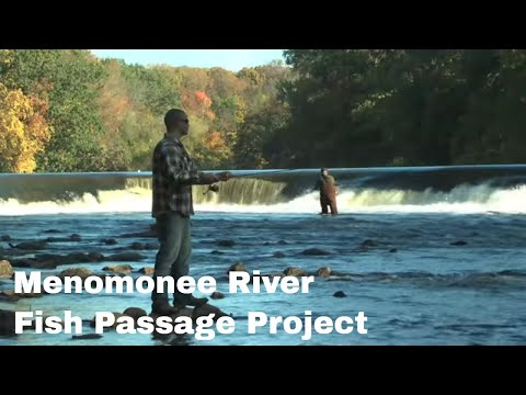 Menomonee River Concrete Removal - Fish Passage Project