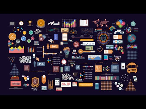 Infographic Ideas living healthy infographics videohive free download after effects templates : BigData Education Infographics Pack   After Effects template - YouTube