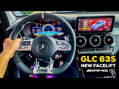 2020 MERCEDES AMG GLC 63S Coupé New FACELIFT Full Review MBUX Interior Better Than BMW X4M?!