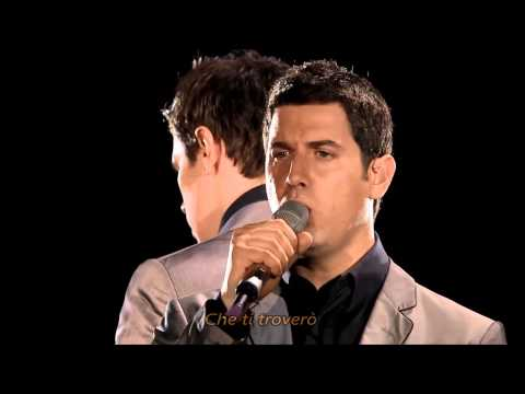 IL DIVO - Adagio With Lyrics, Live In Barcelona