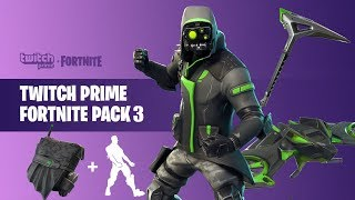 HOW TO GET *FREE* TWITCH PRIME SKINS! - Fortnite Battle Royale Twitch Prime Pack #3