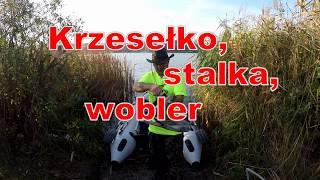 Na ryby z Markiem # 235 Zwiedzić jezioro. (Krzesełko, stalka, wobler) 4K