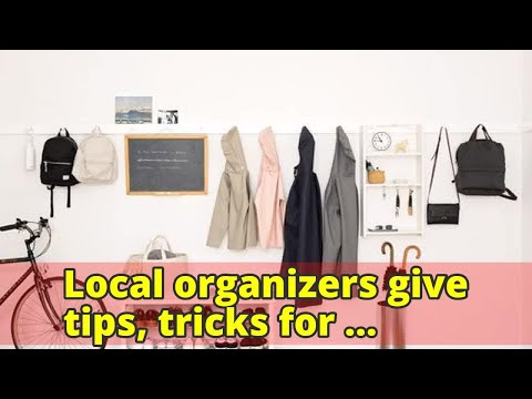 Local organizers give tips, tricks for tackling clutter