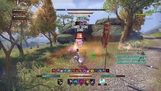 Magicka Nightblade against the wave - ESO PvP Summerset
