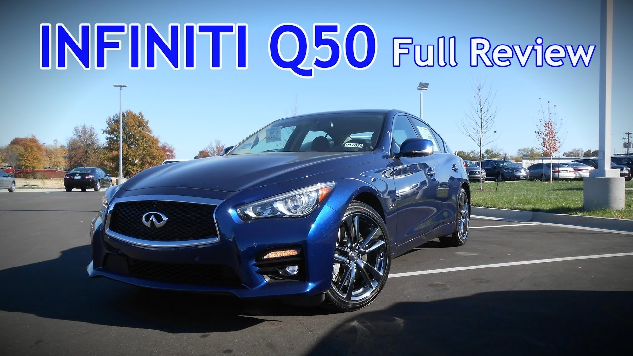 2017 Infiniti Q50 Full Review 2 0t 3 Sport Red 400 Hybrid You
