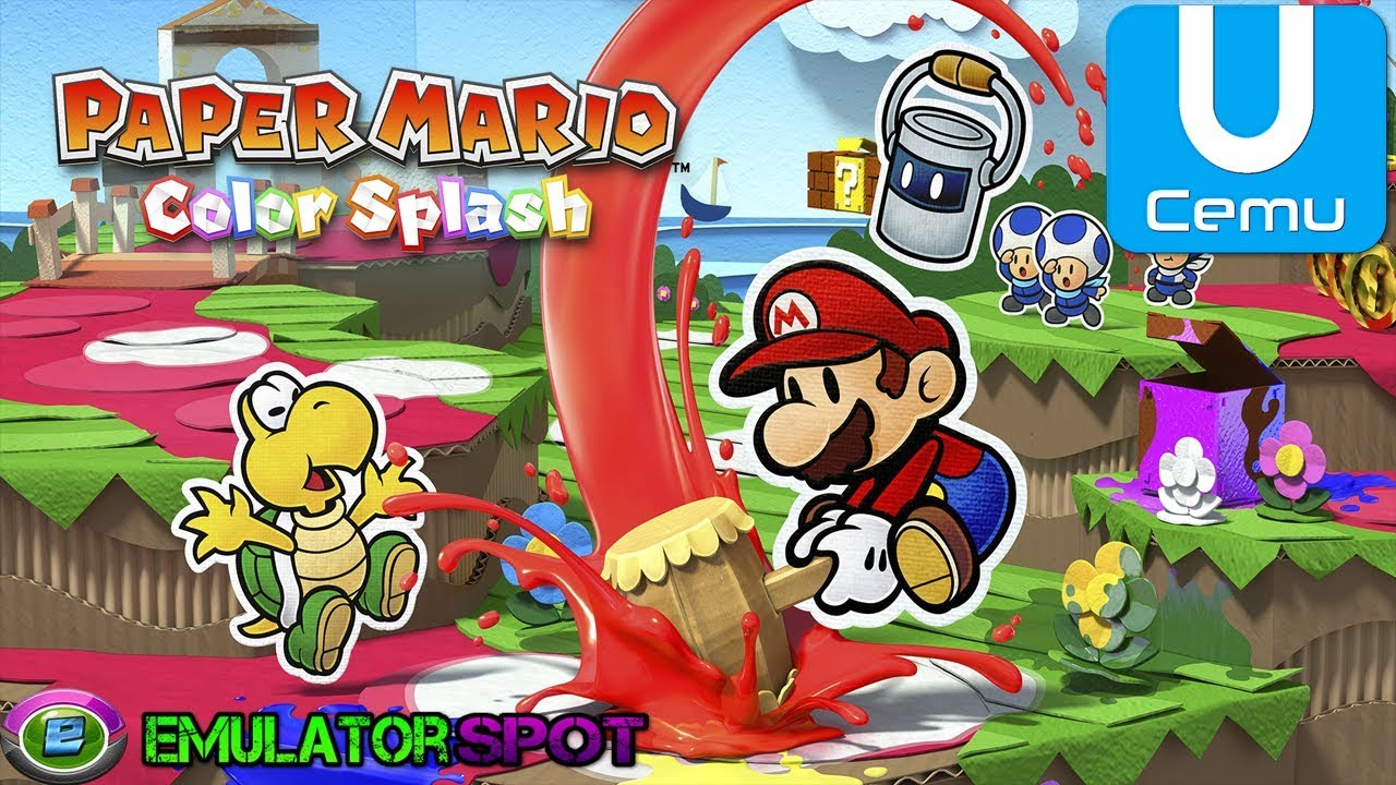 Paper Mario: Color Splash - CEMU Wiki