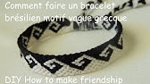 0c07febbf44c5 Friendship Bracelet Tutorial Greek Wave Pattern-Knot It App - YouTube