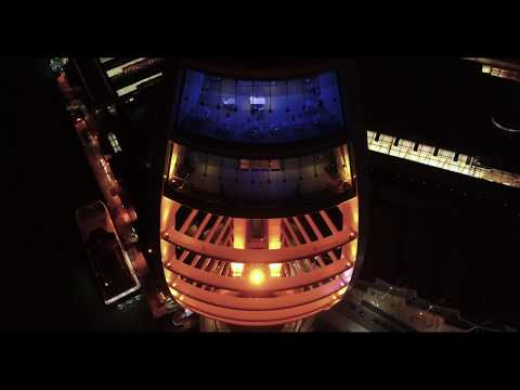 THE MOST AMAZING AERIAL DRONE FOOTAGE SHOT AT NIGHT ( Emirates Spinnaker Tower )