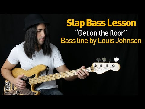 Slap Bass Lesson - Get On The Floor (The Bass Wizard)