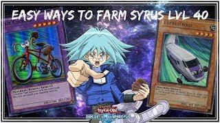 Easy ways to farm Syrus Truesdale lvl 40 l Free2Play [Yu-Gi-Oh! Duel Links]