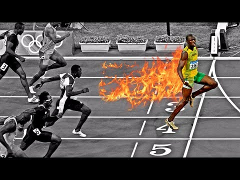 Evolution Of Usain Bolt's Speed | 2004 ➔ 2017