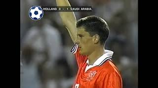 Wim Jonk Goal - World Cup 1994 - Group F | Netherlands - Saudi Arabia 2:1 | 50'